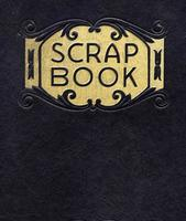 Antique Scrapbook, Circa 1890 (no longer under copyright) photo