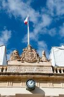 antigo prédio da guarda principal situado na praça de São Jorge, de frente para