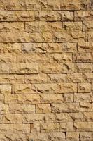 Stone wall closeup photo