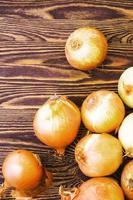 Onions bunch photo