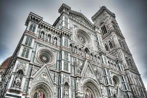 Santa Maria del Fiore facade in Florence