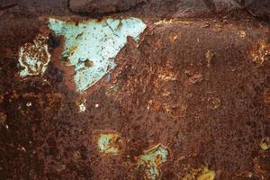 Rusty iron photo