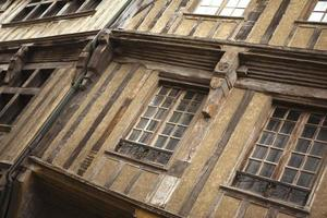 Half timbered houses photo