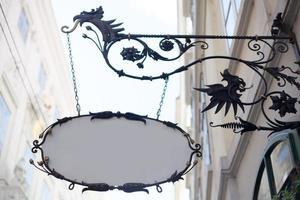 art nouveau shop frame
