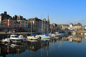 Vieux bassin de Honfleur, France