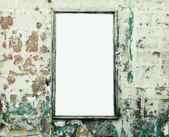 cartelera en blanco foto