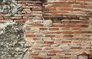 textura de la pared de ladrillo antiguo