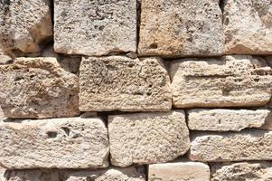 Ancient castle texture photo
