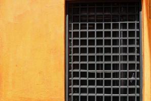 ventana a la parrilla foto