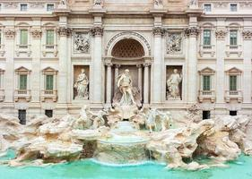 Trevi Fountain, Fontana di Trevi, after the restoration of 2015