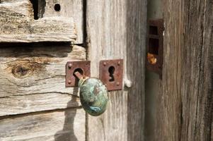 manija de puerta foto