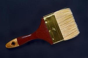 Paintbrush on a dark background