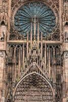 Facade Strasburg Cathedral,France,Alsace
