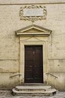 fachada chiesa della madonna assunta e di san biagio, ugento