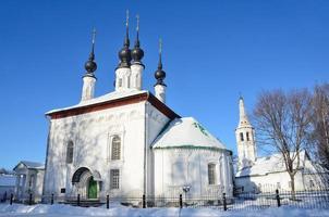 iglesia carekonstantinovskaya en suzdal foto