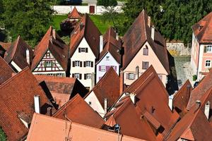 medieval city Dinkelsbuehl in Germany photo