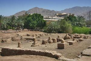 Archaeological site Ayla in Aqaba, Jordan