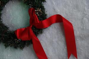 corona de Navidad foto