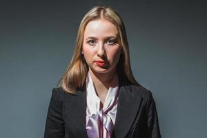 Portrait of businesswoman photo