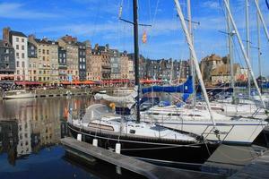 Vieux Bassin d'honfleur, Francia foto