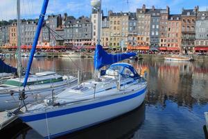 Vieux Bassin D'Honfleur, Frankrijk