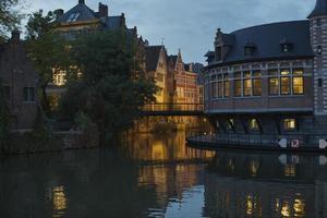 Riverside center of Gent