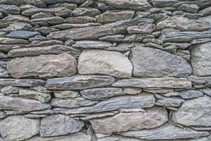 Background. Wall assembled from stones