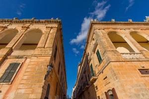 Ciutadella menorca placa des born centre-ville de ciudadela