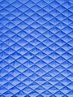 tejido azul con rombo foto