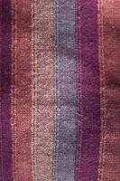 textura de tela a rayas foto