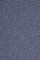 Fondo, textura de tejido de punto azul y rojo
