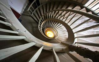 Spiral staircase in Riga