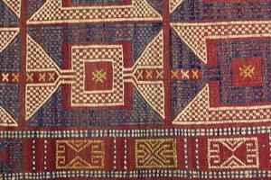 Traditional handmade Turkish Carpet photo