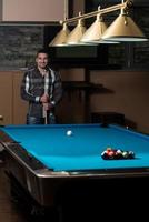 The Billiard Player