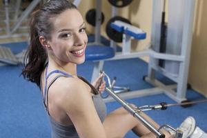 Beautiful Fit Womenin the gym
