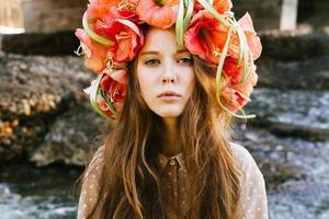 girl Flower hat