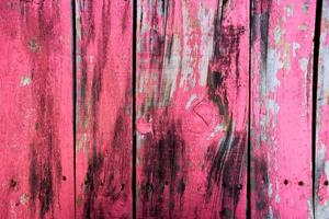 Pink and black wooden surface