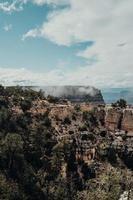 Mountain scape plateau