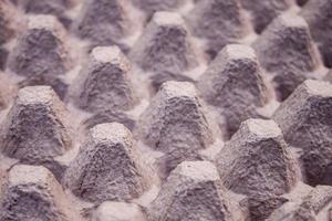 Egg carton texture abstract