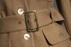 Coat detail photo