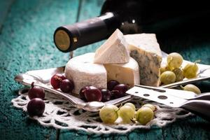 Composition of cheese photo