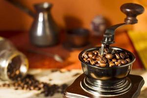 granos de café.