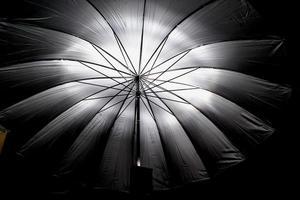 paraguas y flash