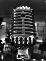 vintage microphone photo