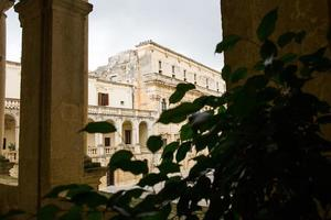 Birshopric seen from the Duomo, Lecce photo