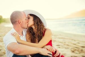 Happy couple in love photo