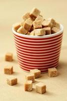 sugar cubes photo