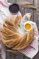 pan de semillas de amapola foto