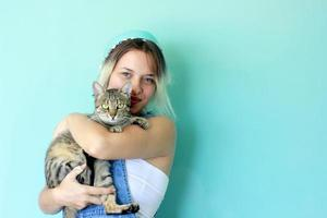 Cat and Its Owner