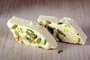 halva with pistachio